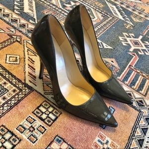 Kate Spade Green Patent Leather Pumps